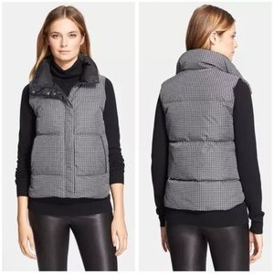 Theory Medium Leratona Check Puffer Vest
